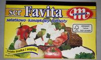 Ser miękki solankowy półtłusty Favita - Produkt
