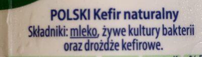 Kefir - Ingredients - en