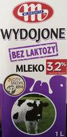 Mleko wydojone 3,2% bez laktozy - Produkt - pl