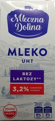 Mleko UHT bez laktozy - Product - pl