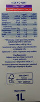 Mleko UHT bez laktozy - Ingredients - pl