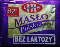 Masło ekstra bez laktozy - Produkt - pl