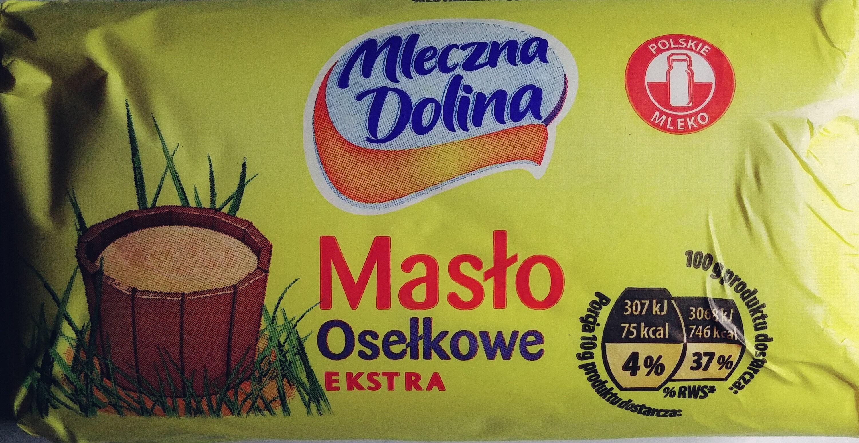 Masło osełkowe ekstra - Produkt