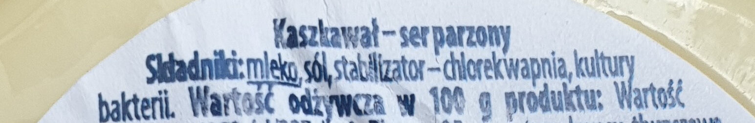 Ser Kaszkwał - Ingrédients - pl
