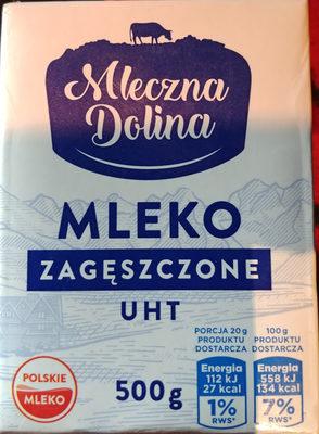 Mleko zagęszczone UHT 7,5% - Produit - pl