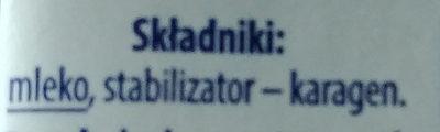 Mleko zagęszczone UHT 7,5% - Ingrédients - pl
