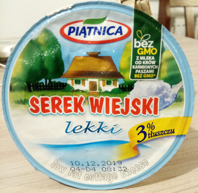 Low Fat Cottage Cheese - Produkt - pl