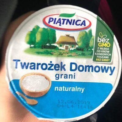 Twarożek Domowy grani naturalny - Product - pl