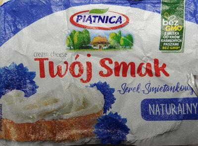 Serek śmietankowy naturalny - Produkt - pl