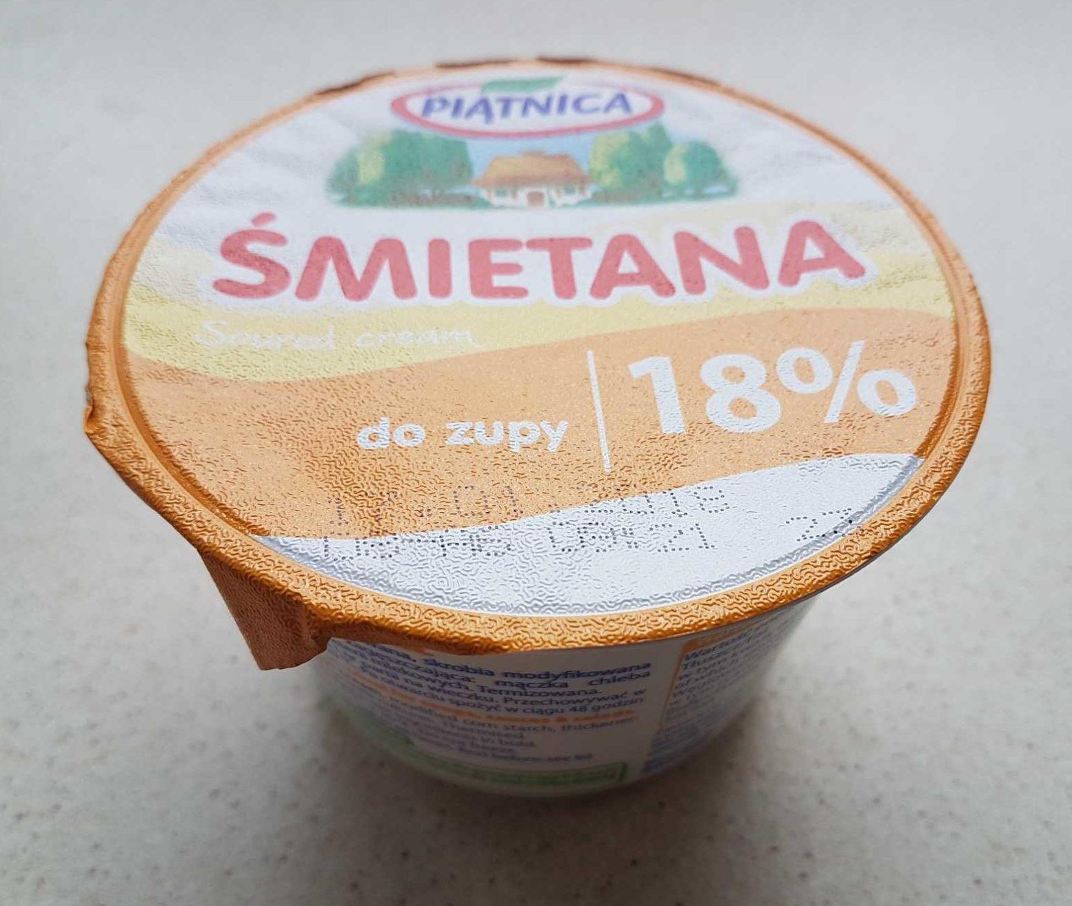 Smietanka Do Zupy (18%) - Produkt