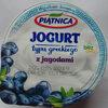 Jogurt typu greckiego z jagodami 2,4% tłuszczu - Produit