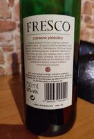 Fresco Semi Sweet Red - Składniki - pl