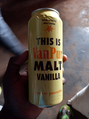 malt vanilla - Produit - fr