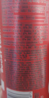 Energy drink - Informations nutritionnelles - ro