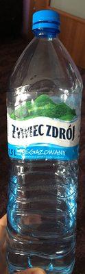Woda źródlana - Produkt