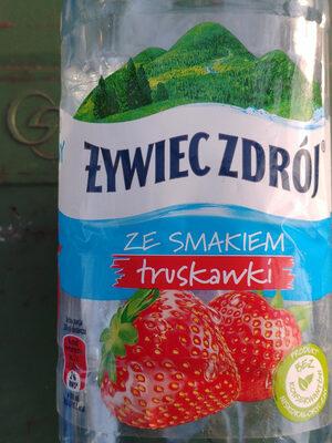 Żywiec Zdrój z nutą truskawki - Produkt