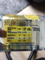 Zywiec Zdrój Lemon Flavoured Still Water - Wartości odżywcze - fr