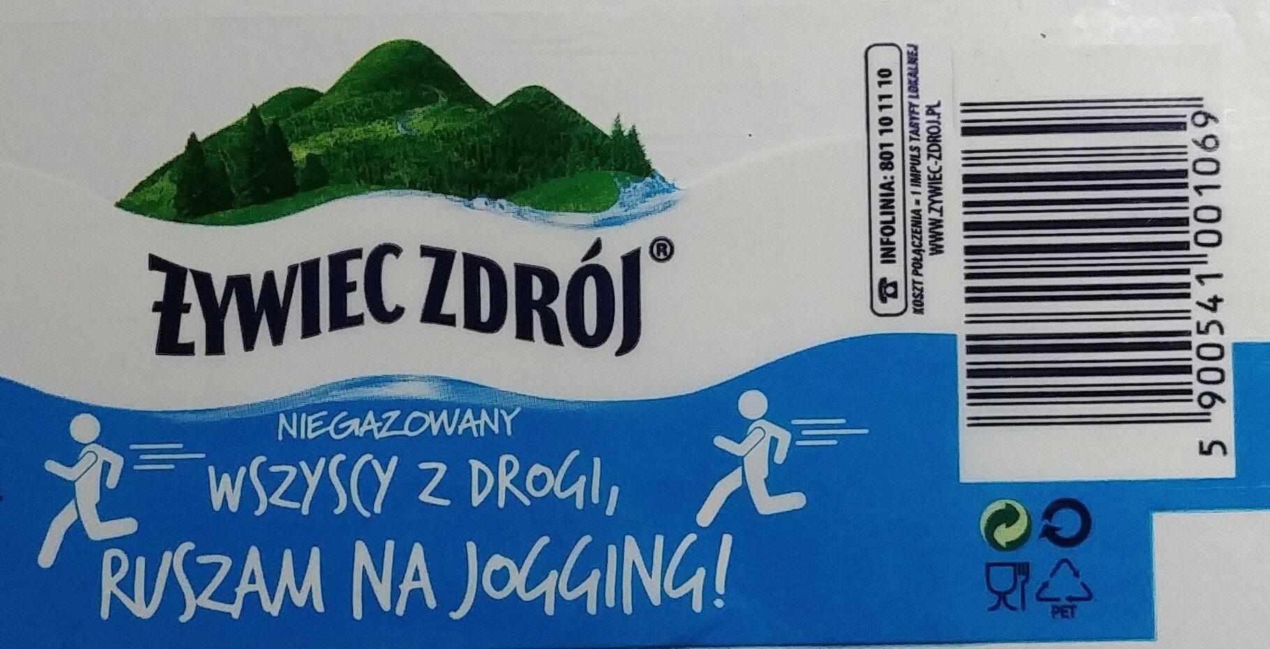 Woda źródlana niegazowana - Product - pl