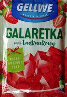 Galaretka o smaku truskawkowym w proszku. - Product