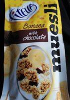 Musli chrupkie bananowe z kawałkami czekolady - Produkt - pl