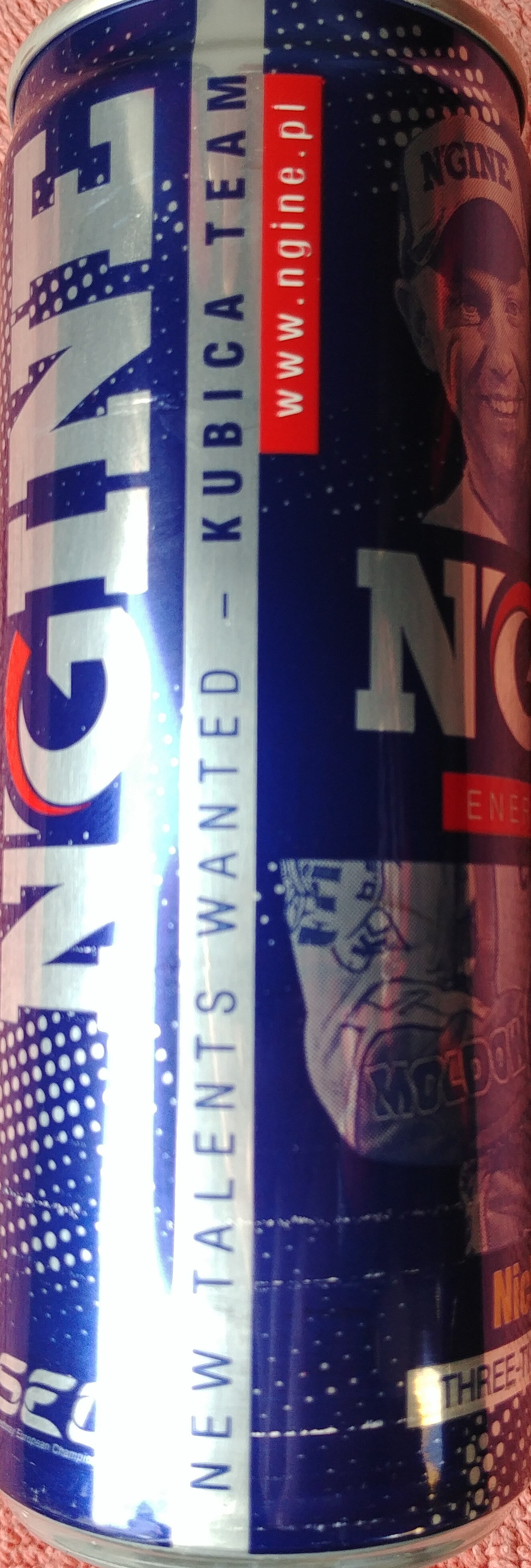 Gazowany napój energetyzujący z dodatkiem witamin - Product - pl