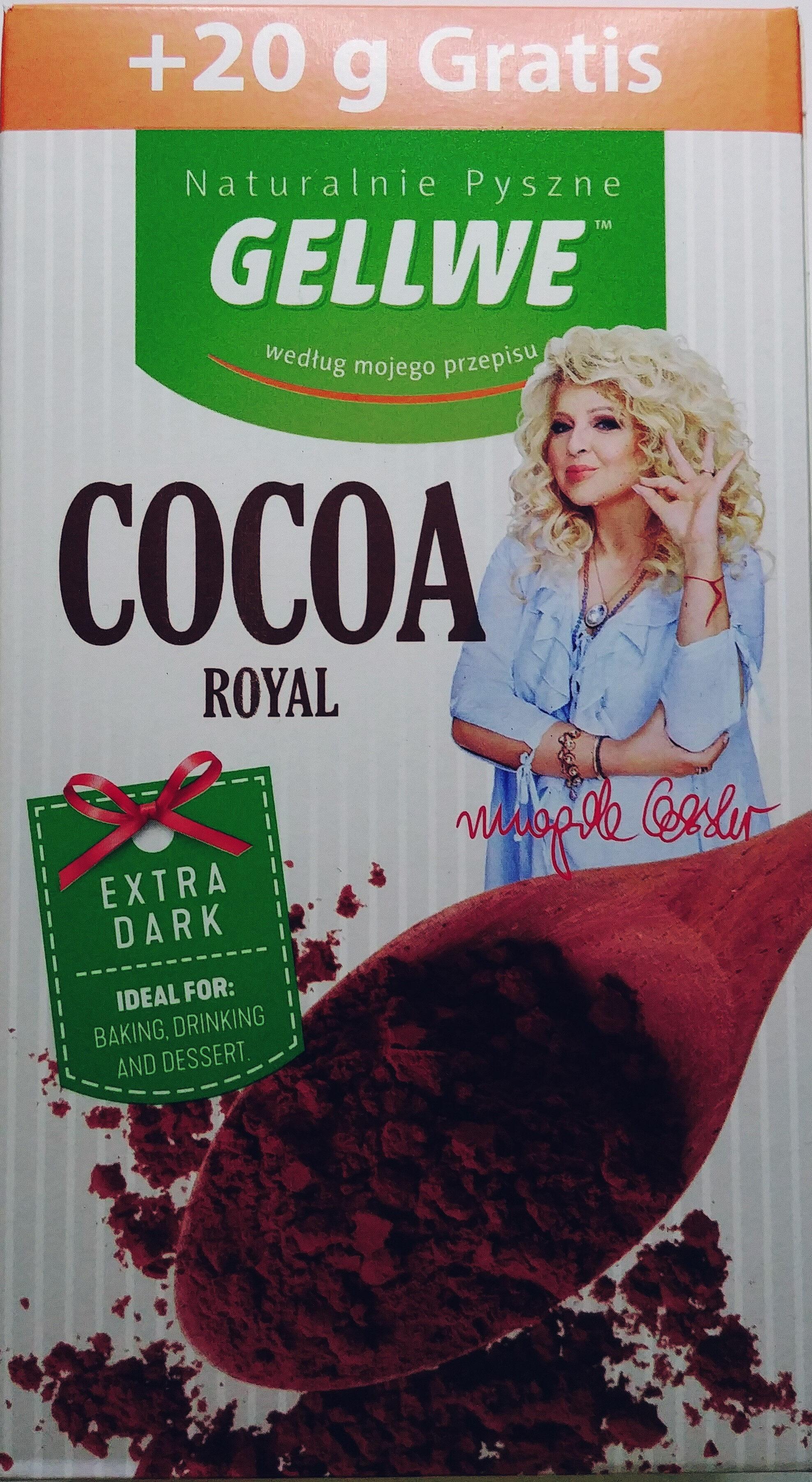 Kakao Royal o obniżonej zawartości tłuszczu - Produkt