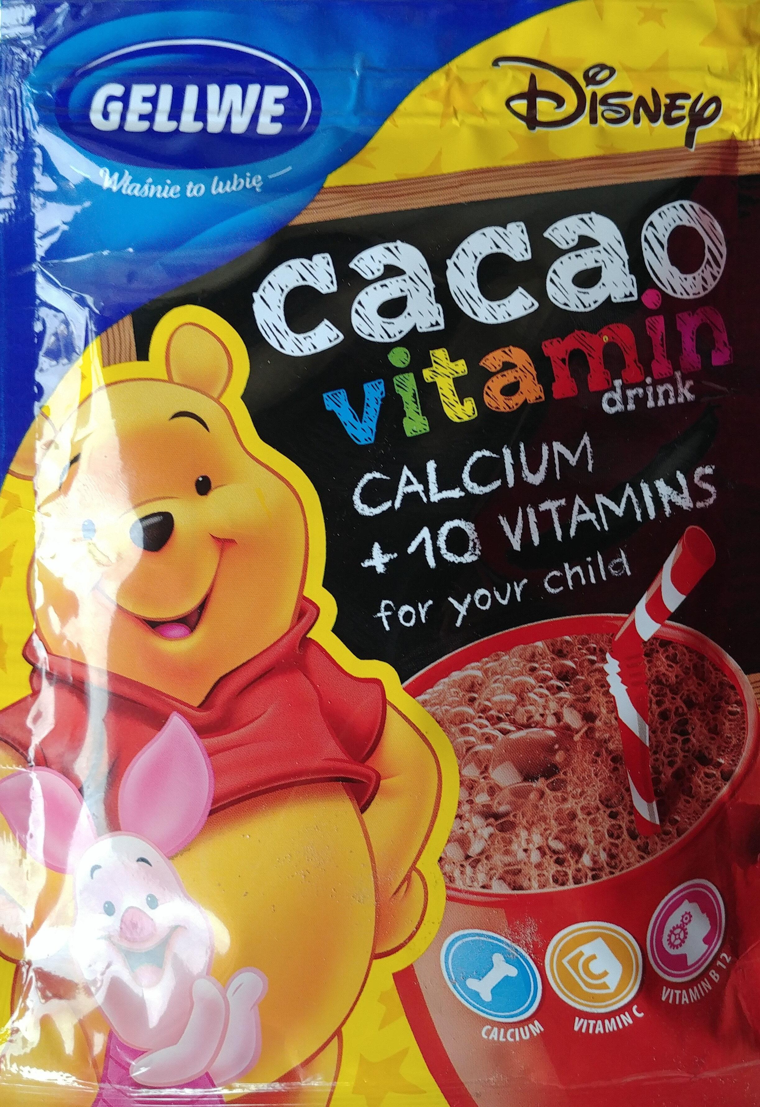 Kubuś i przyjaciele napój kakaowy instant z witaminami i wapniem. - Product - en
