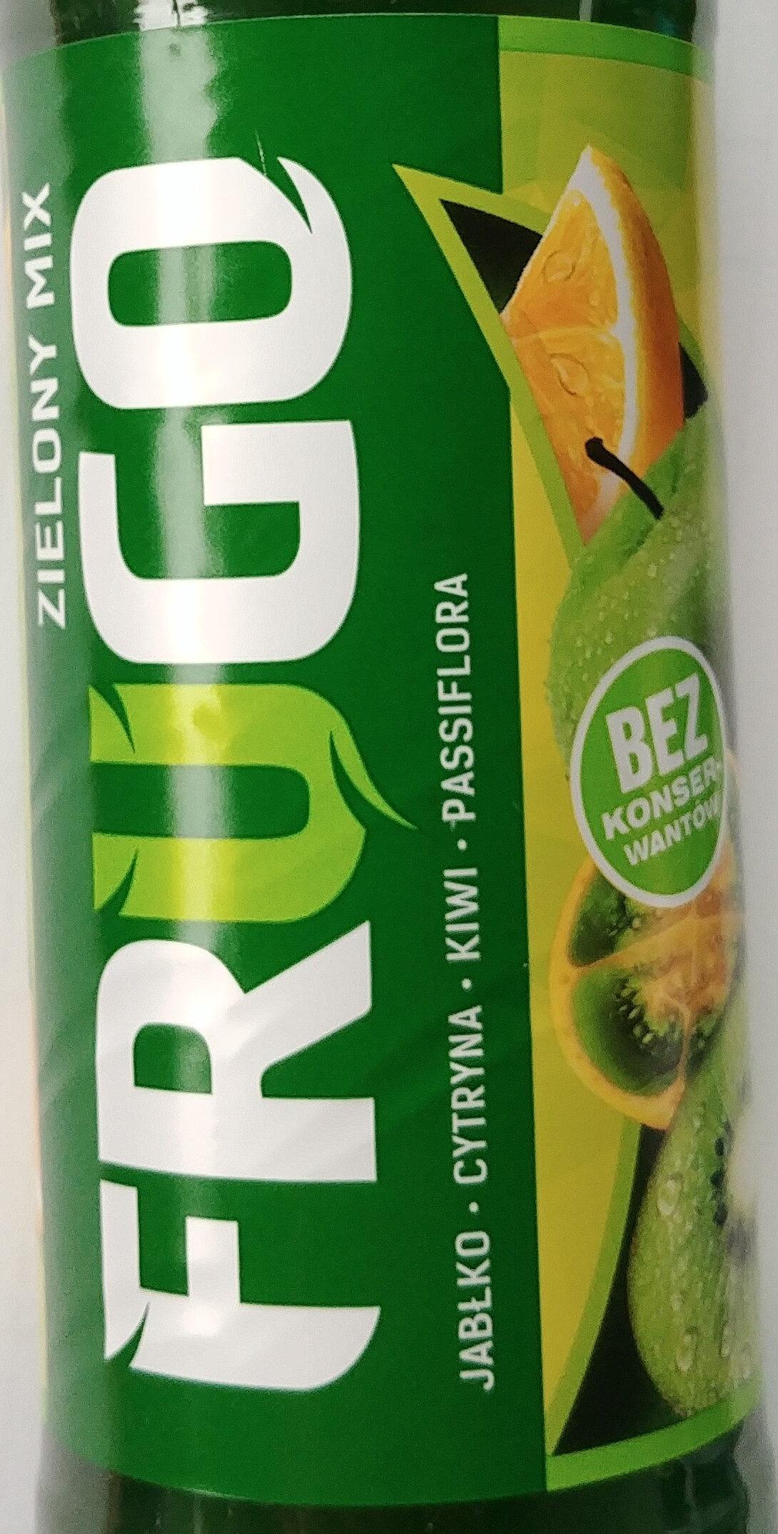 Napój wieloowocowy - Zielony mix - Product - pl