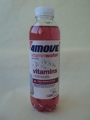 4move Vitamin water cherry - Produkt