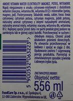Vitaminwater - Ingredients