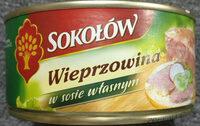 Wieprzowina w sosie wlasnym - Produkt