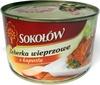 Żeberka wieprzowe z kapustą - Product