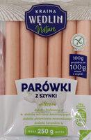 Parówki z szynki - Produkt - pl