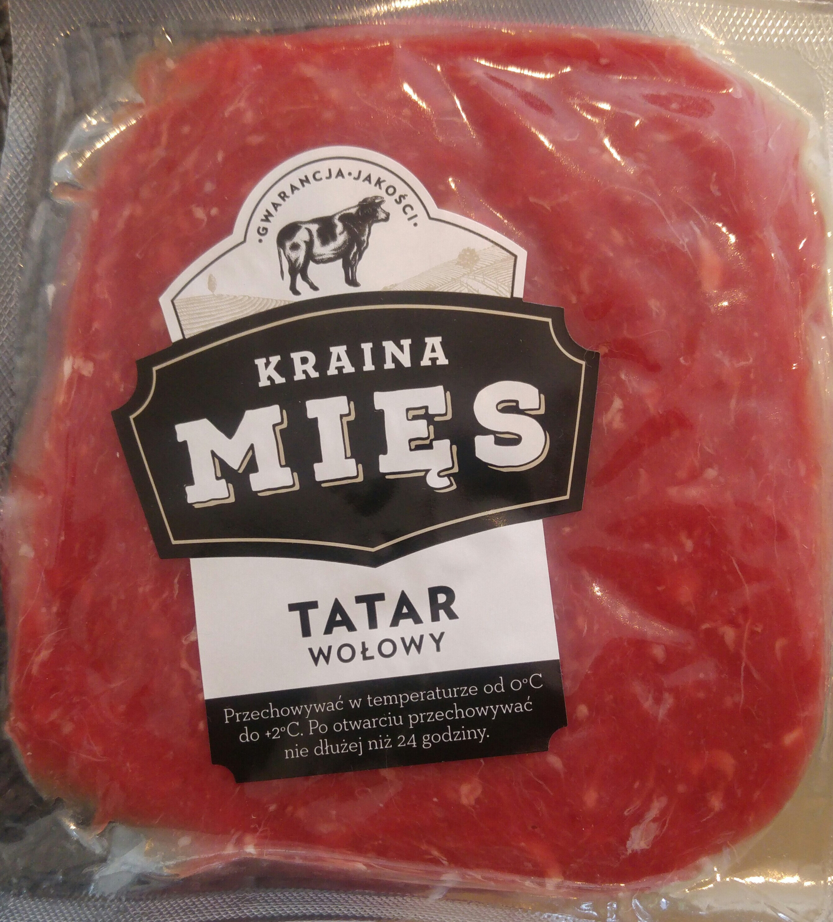 Tatar wołowina - Produkt - pl
