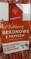 Kabanosy bekonowe z pieprzem - Produkt - pl