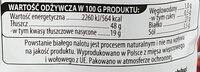 Kabanosy klasyczne wieprzowo-wołowe, drobno rozdrobnione, wędzone, parzone, suszone. - Nutrition facts - pl