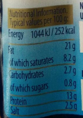 Berlinki Classic - Nutrition facts