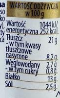 Berlinki Classic - Wartości odżywcze