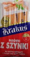 Kiełbasa wieprzowa homogenizowana wędzona parzona w osłonce niejadalnej. - Produkt - pl