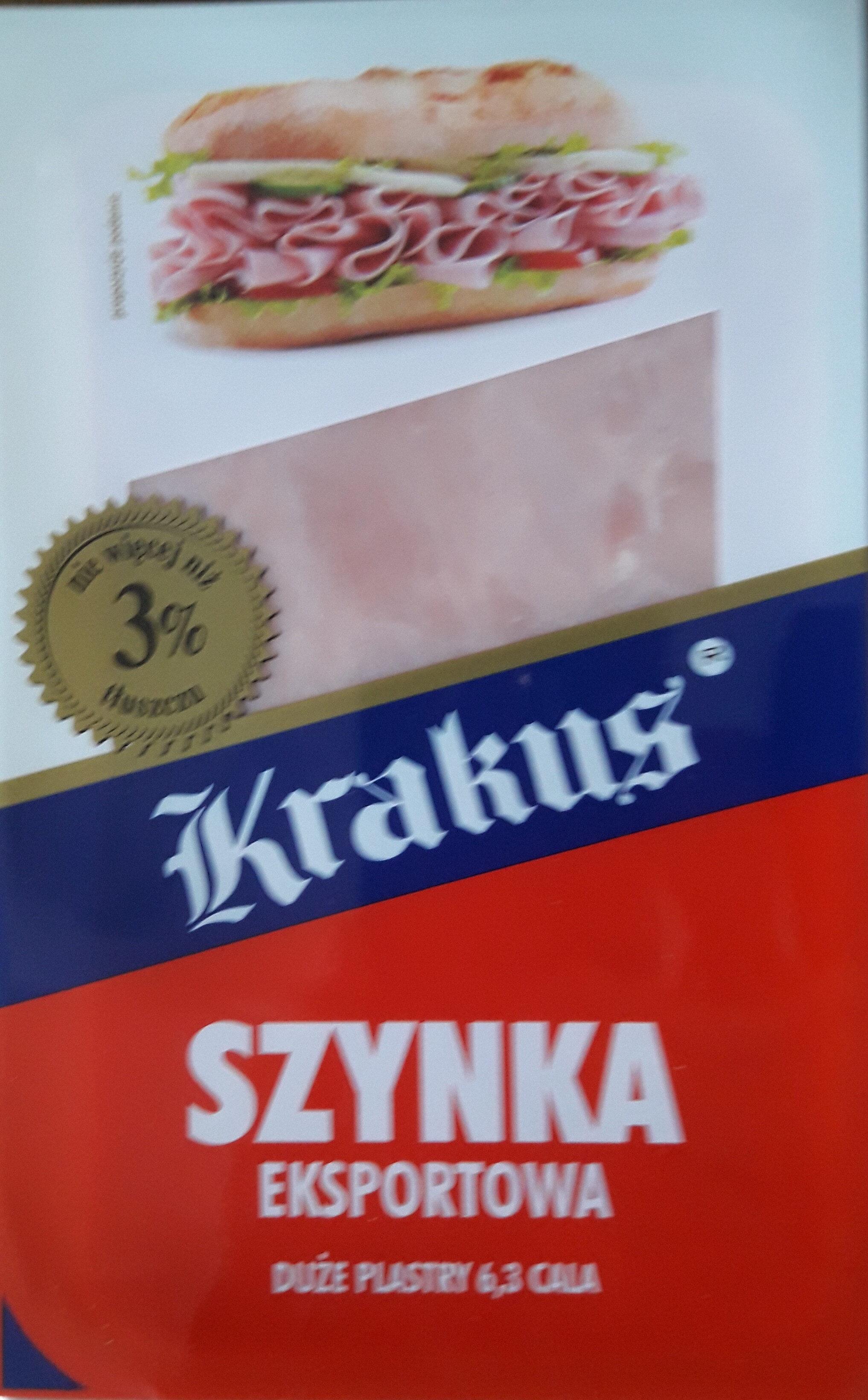 Szynka eksportowa - Produit - pl