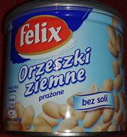 Orzeszki ziemne prażone bez soli - Produkt