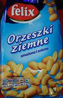 Orzeszki ziemne smażone i solone - Produkt