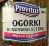Ogórki konserwowe hot chili - Product