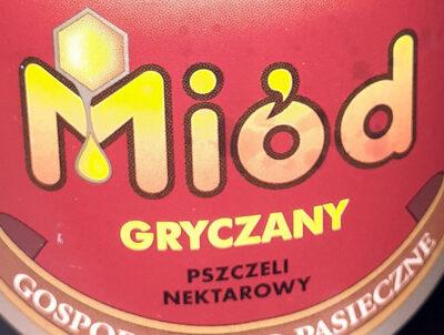 Sądecki Bartnik - Miód gryczany - Ingrédients - pl