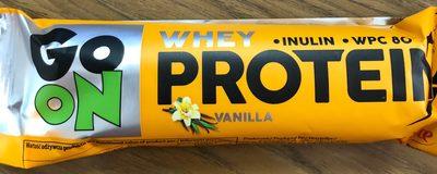 Whey protein bar vanilla flavour & chocolate - Produit - fr