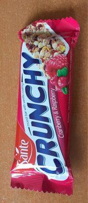 Sante Crunchy Museli Cranberry & Raspberry Bar - Product - fr