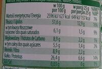 Krem z orzechów ziemnych z kawałkami - Nutrition facts - pl