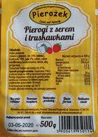 Pierogi z serem i truskawkami - Produkt