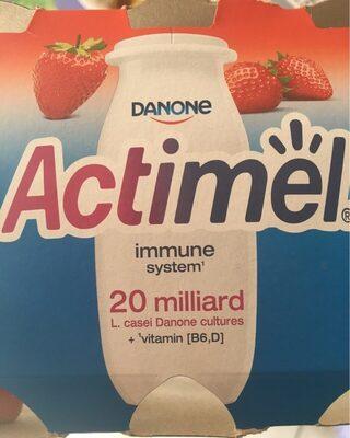 Actimel fraise - Produkt - pl