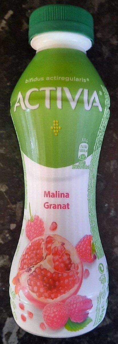 Activia malina, granat - Produkt - pl